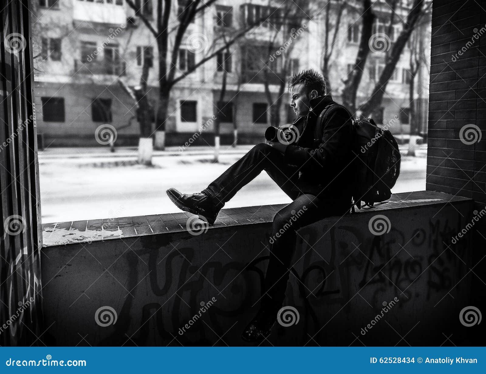 摄影师看街道