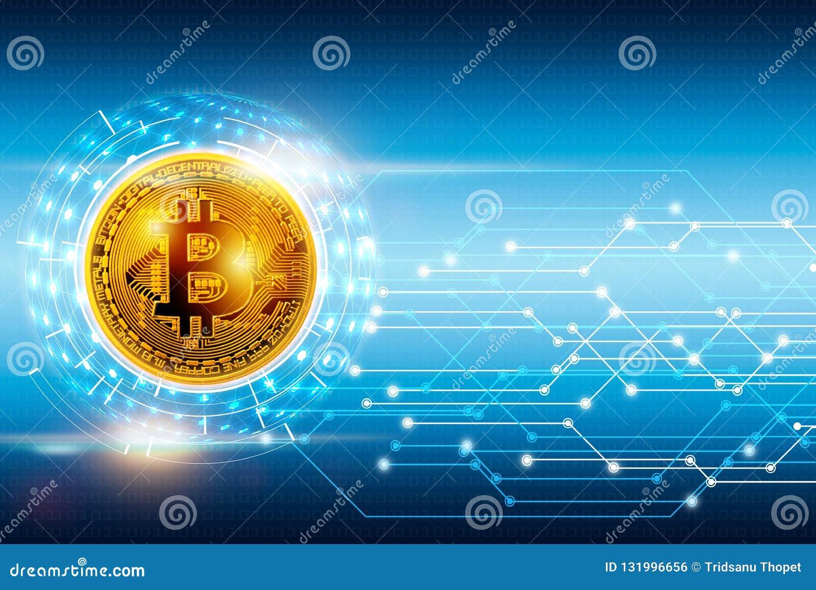 摘要数字全球网络连接和bitcoin