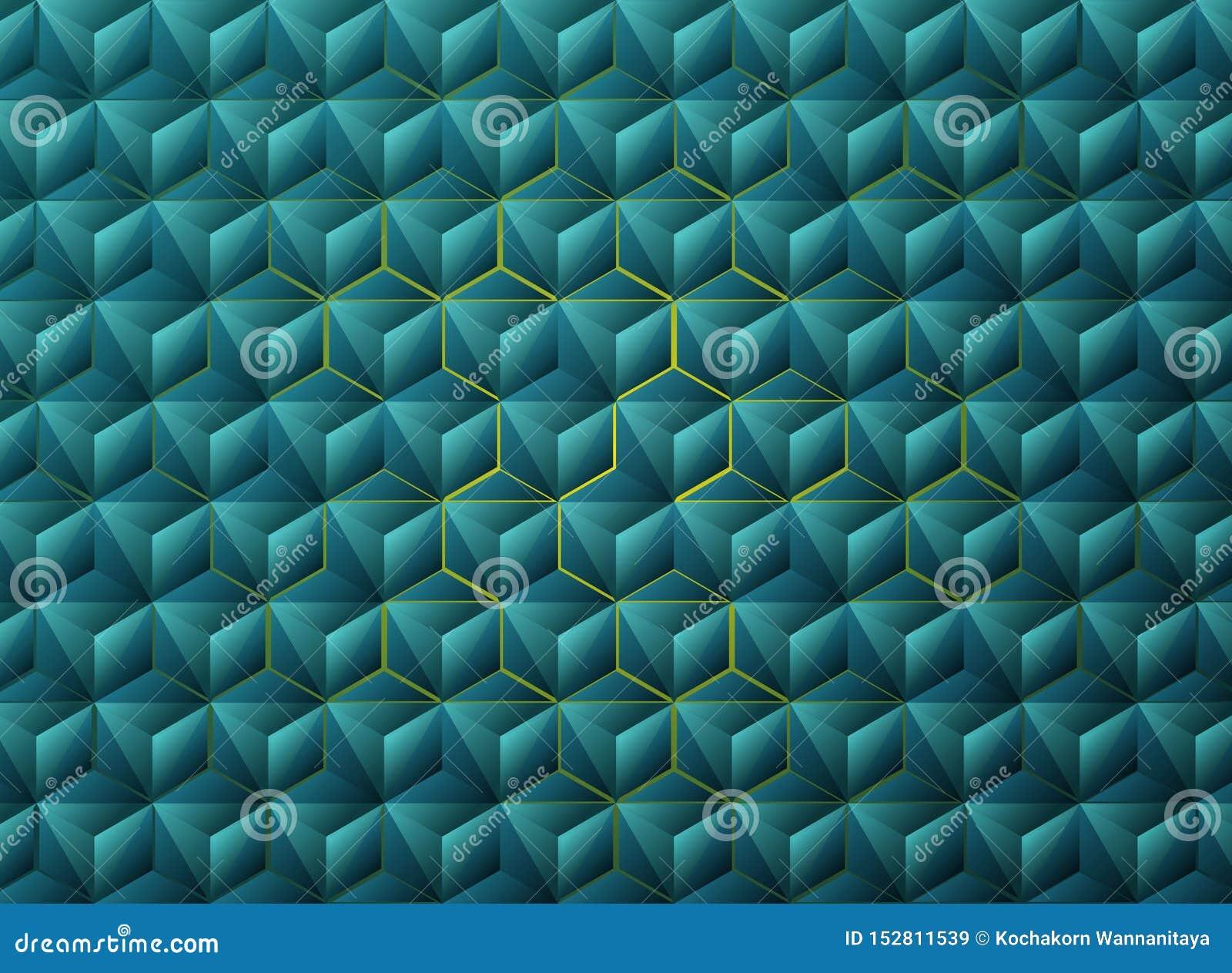 摘要梯度蓝色三角几何技术设计 r