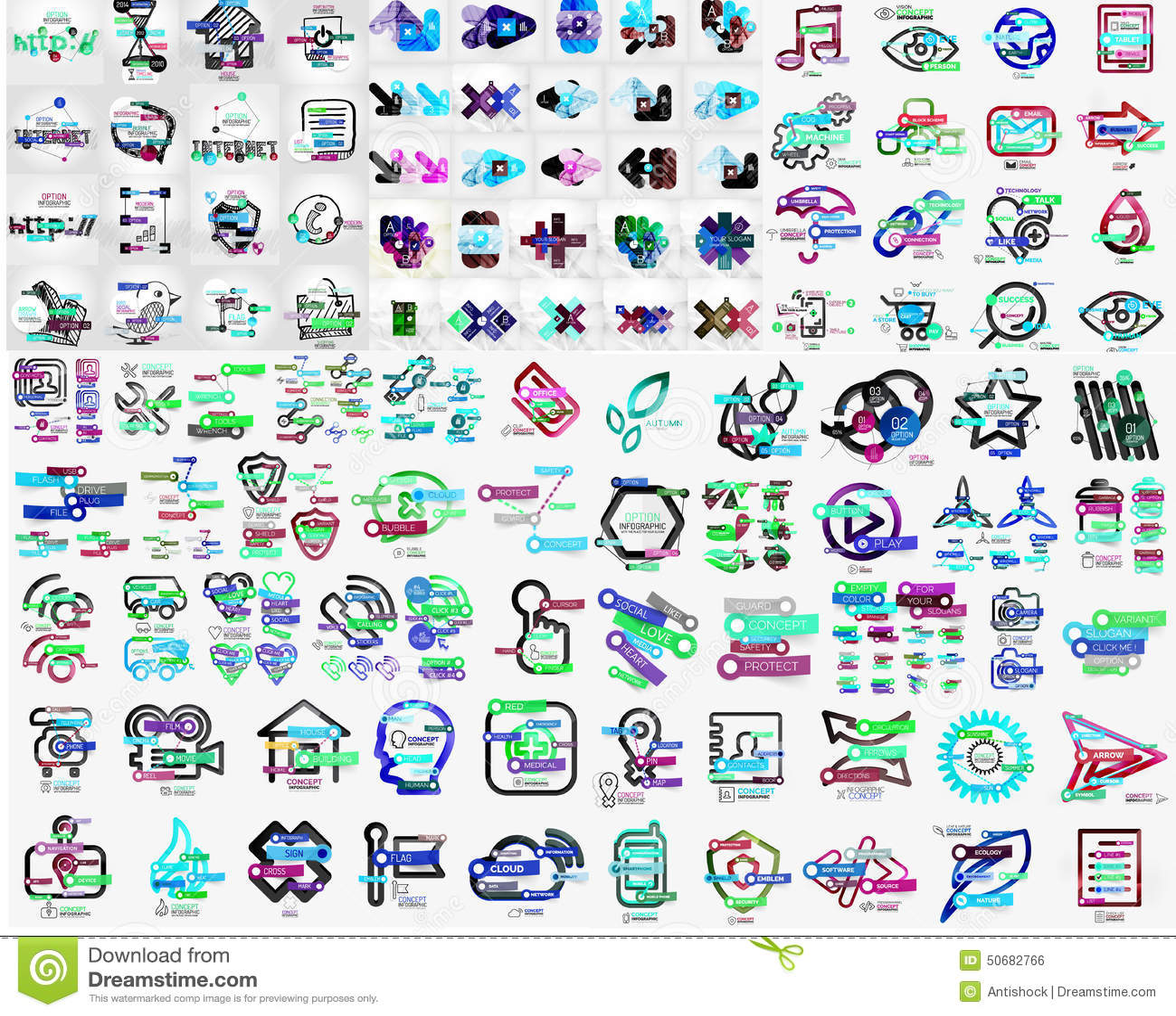 Download 摘要的兆收藏塑造infographics 向量例证. 插画 包括有 抽象, 靠山, 概念, 收集, 手册 - 50682766