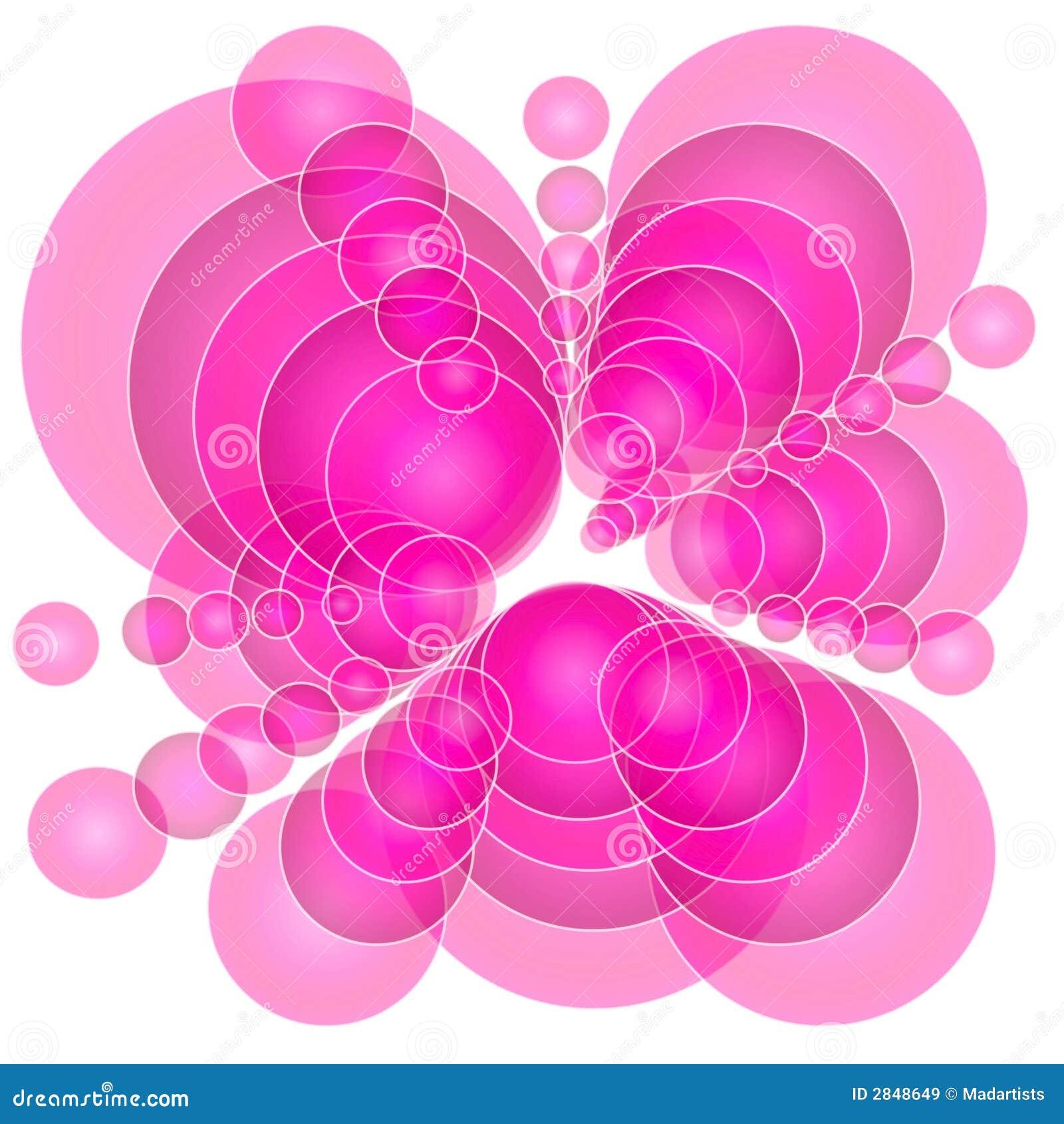摘要盘旋不透明的粉红色
