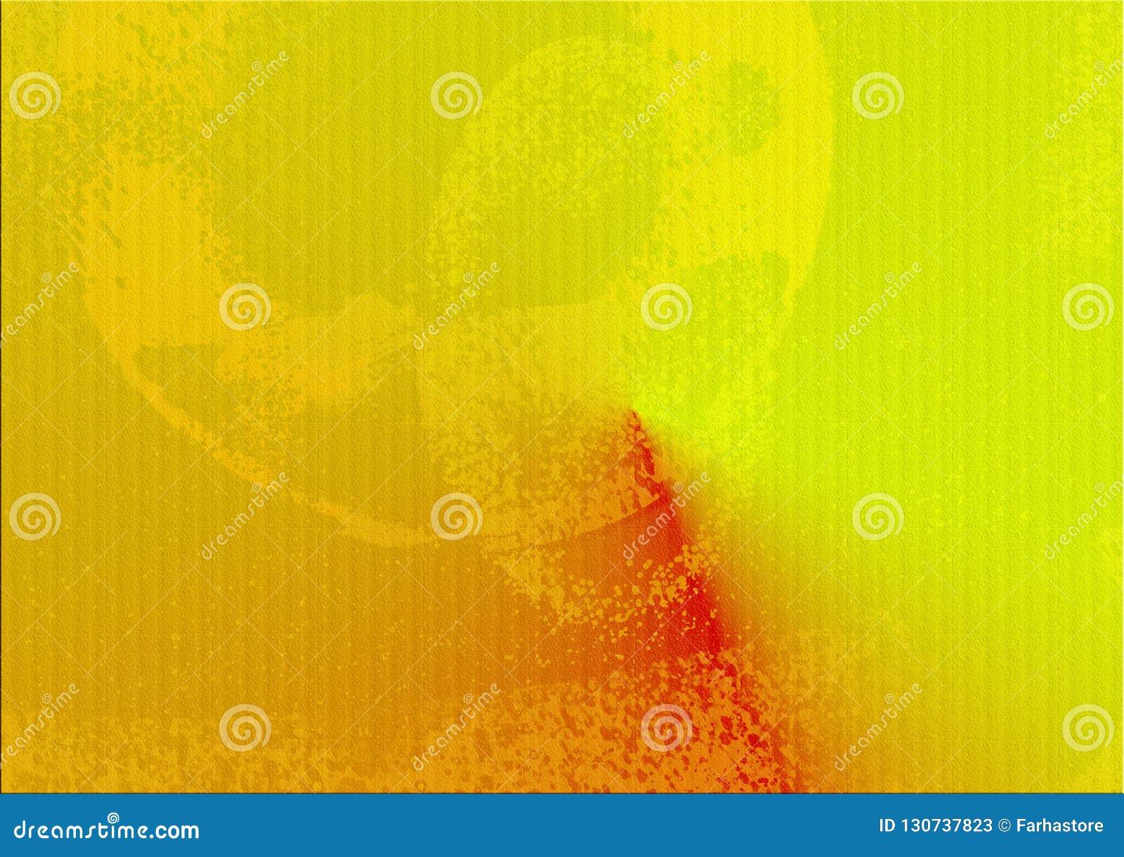 摘要红色黄色梯度背景 对您的乌克兰语的装饰设计民间内部纹理