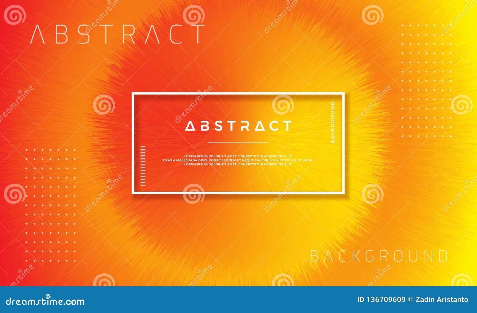 摘要,动态,现代橙色背景您的设计元素的和其他