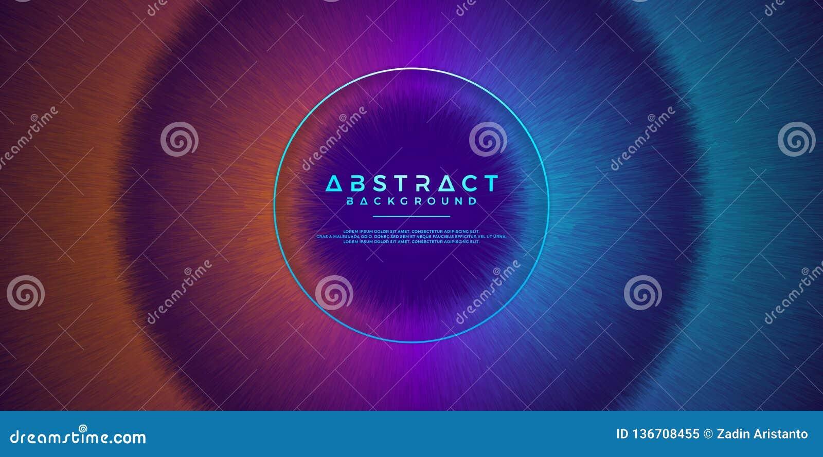 摘要,动态,现代背景您的设计元素的和其他,用桔子,紫色和浅兰的梯度颜色