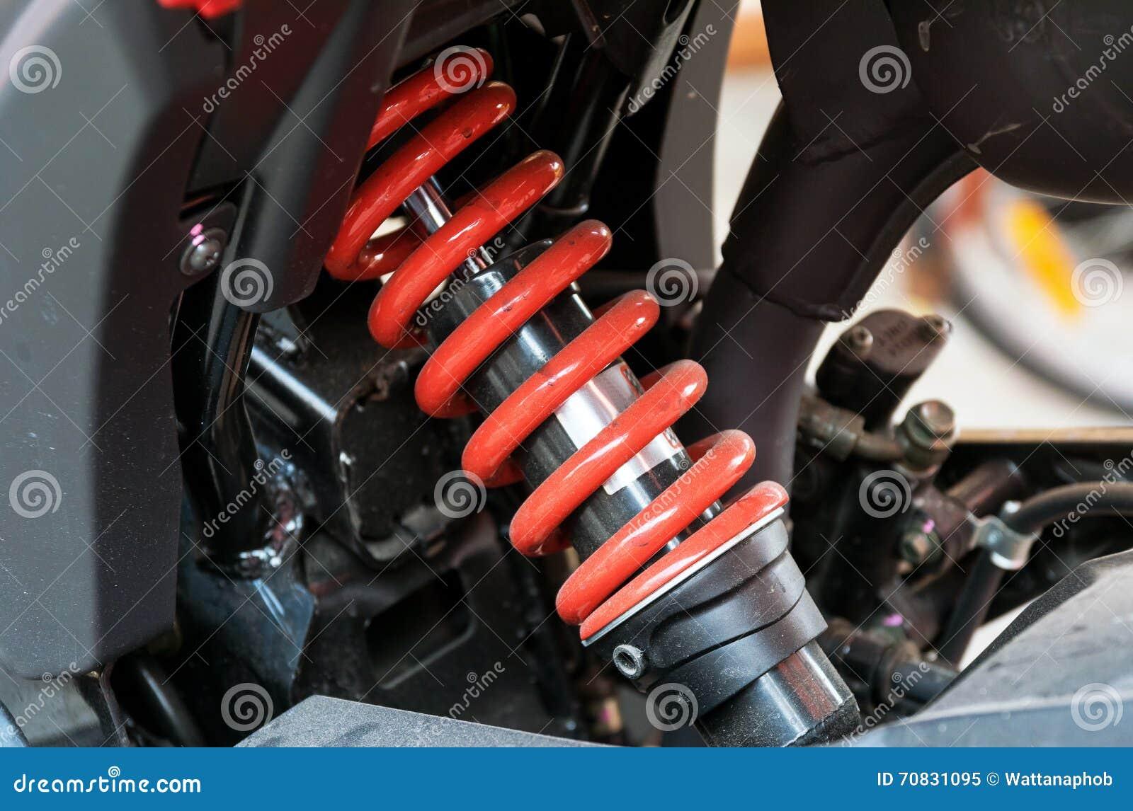 摩托车吸收的一个设备颠簸的缓冲器