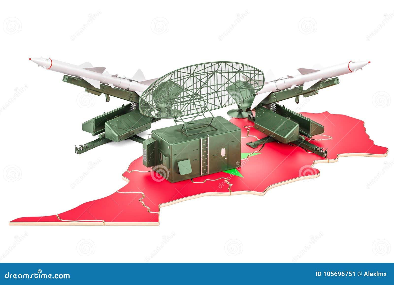 摩洛哥导弹防御系统概念, 3D翻译