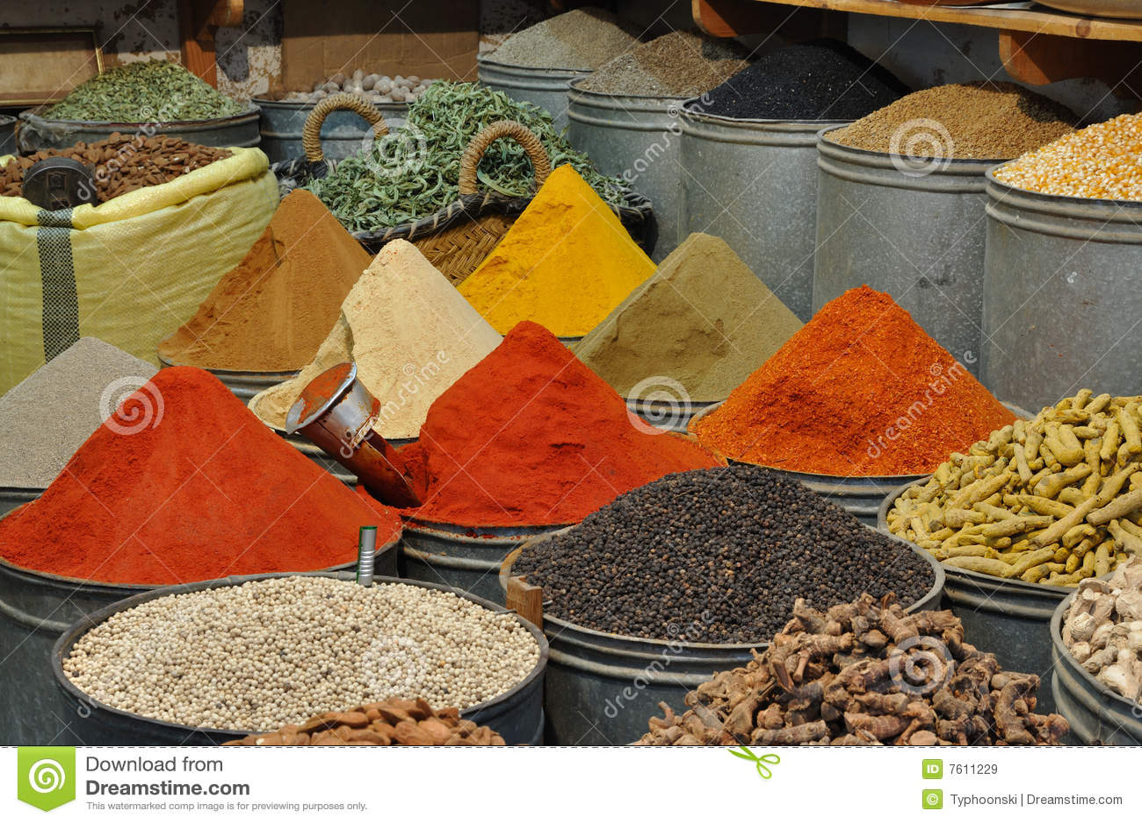 摩洛哥界面香料