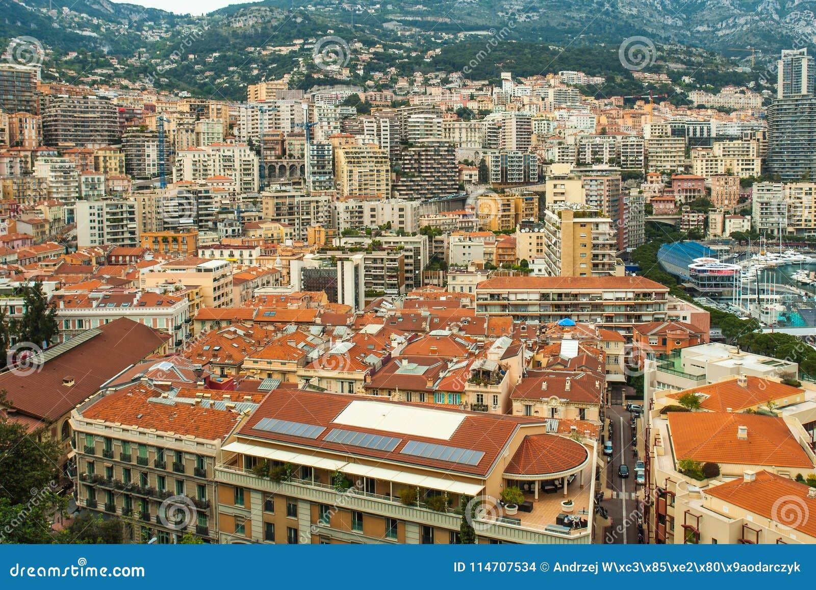 摩纳哥,蒙地卡罗全景城市