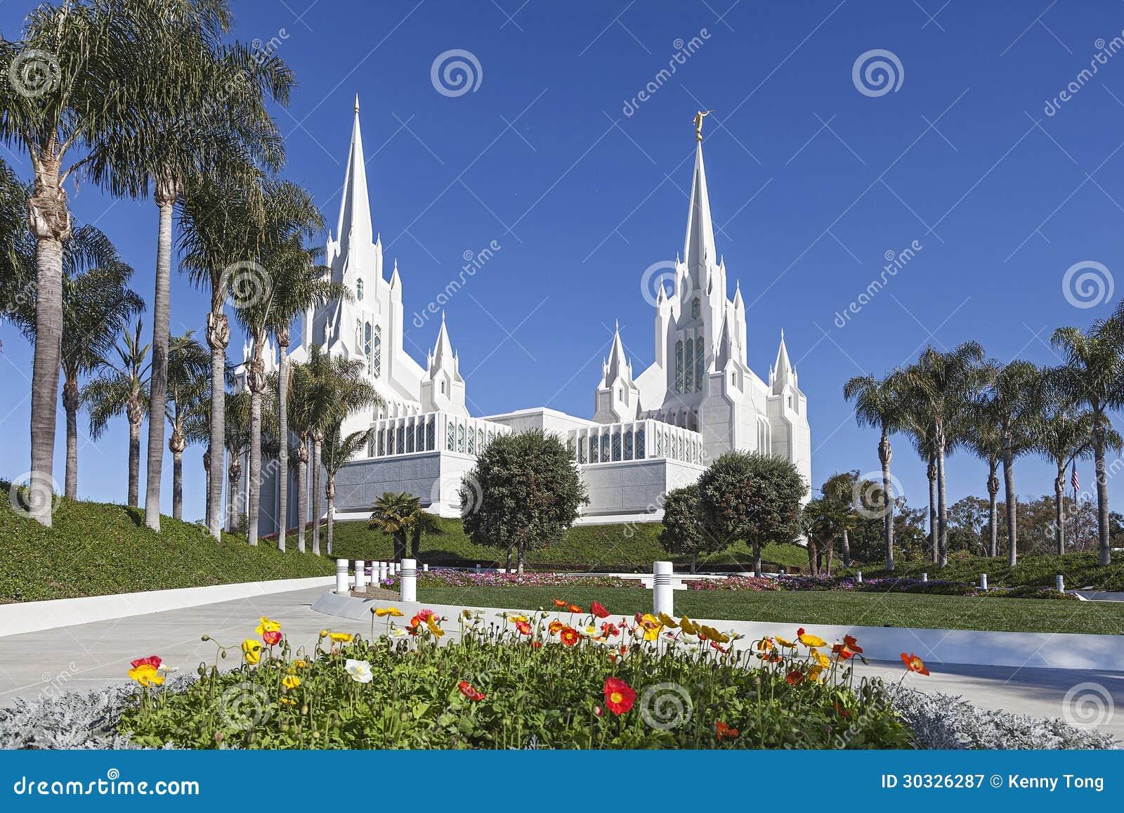摩门教堂-圣地亚哥加利福尼亚寺庙