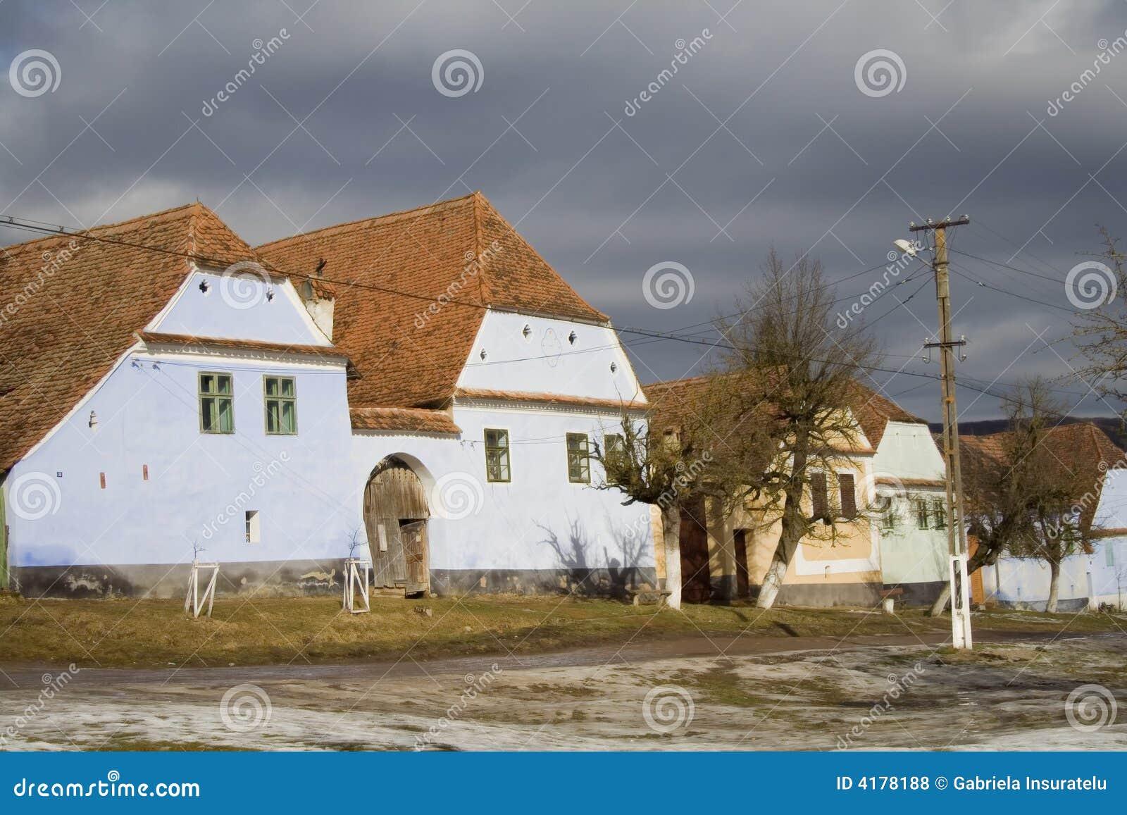 撒克逊人的村庄
