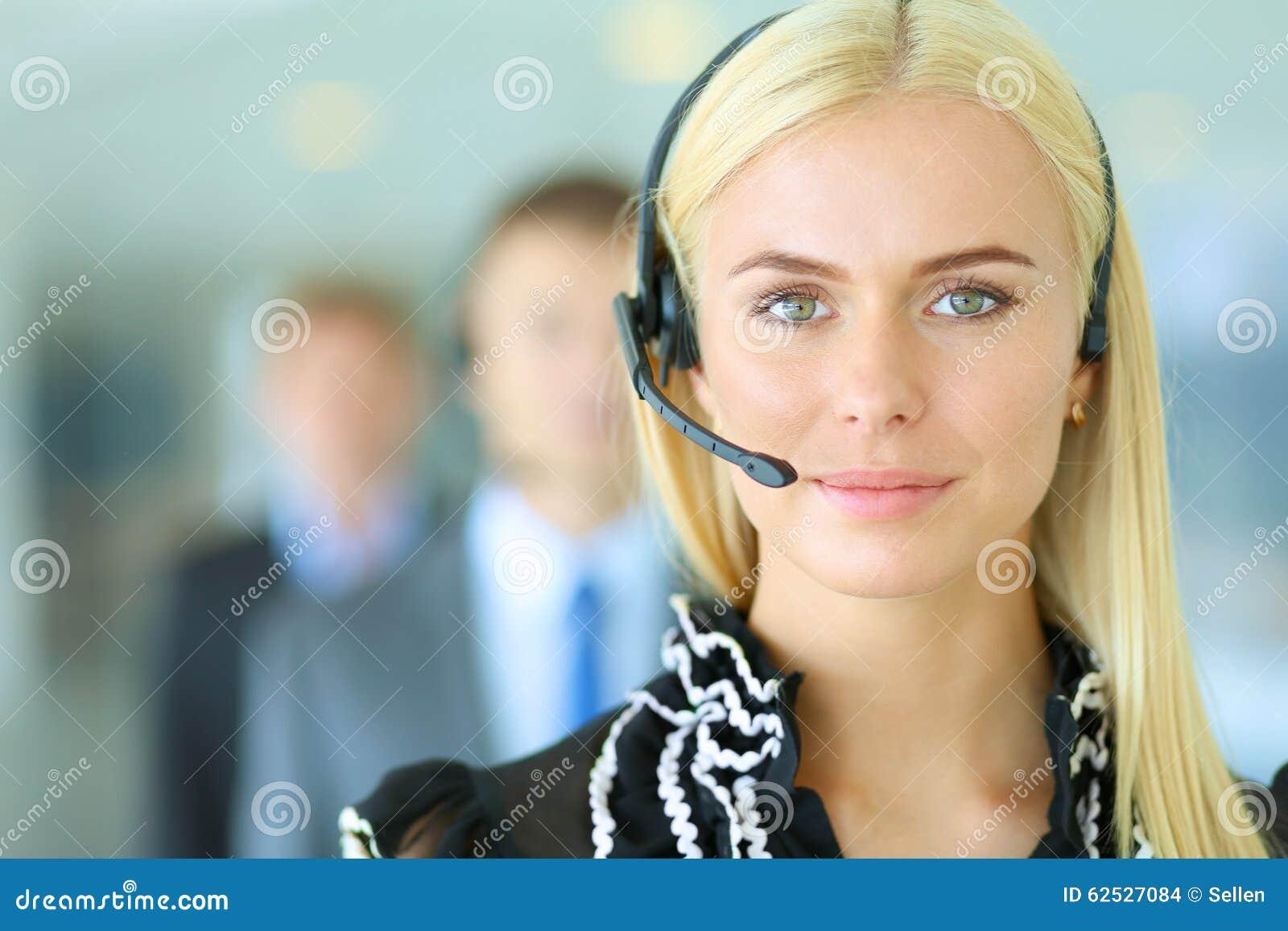 支持有的电话操作员画象