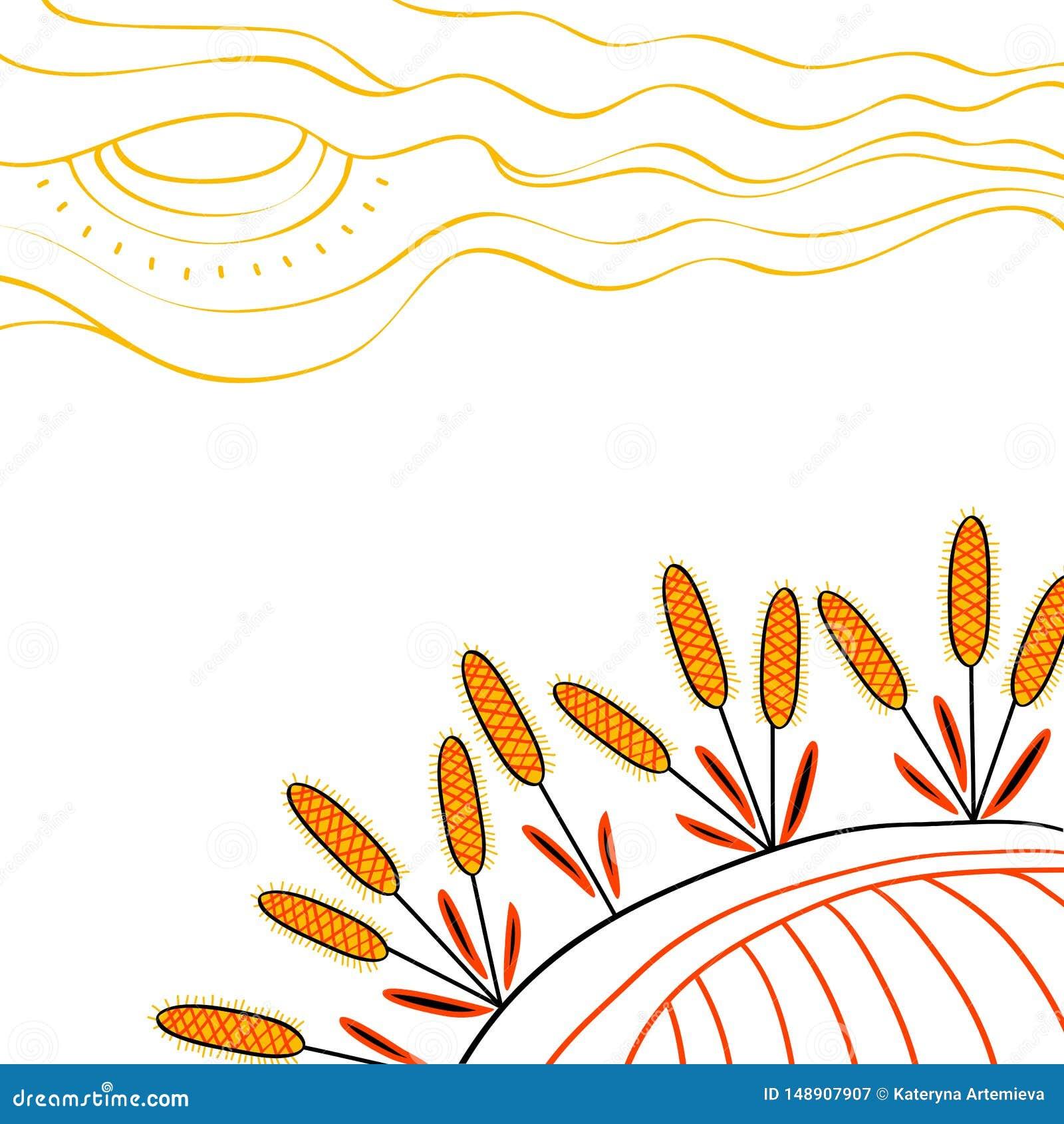 收获背景 在领域的手拉的麦子