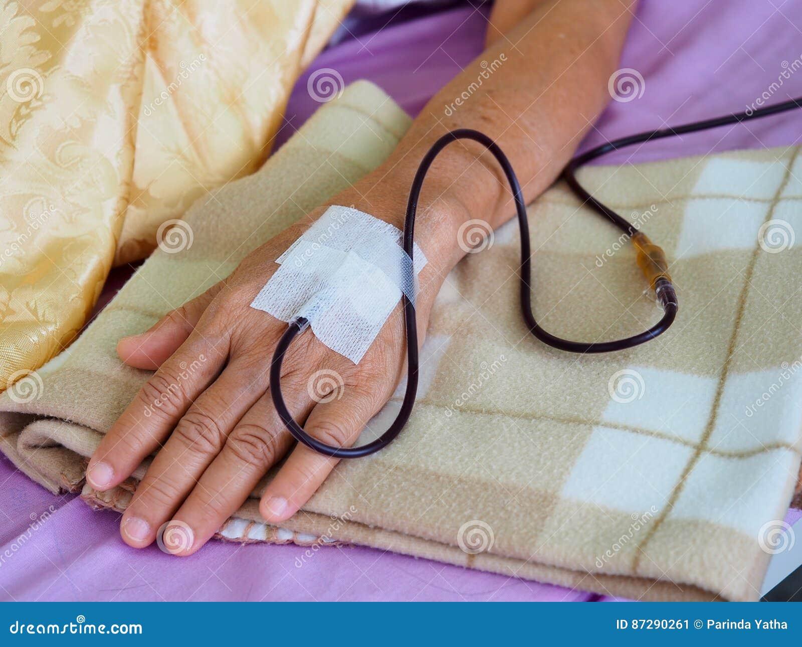 收集一次性工具箱注入的血液