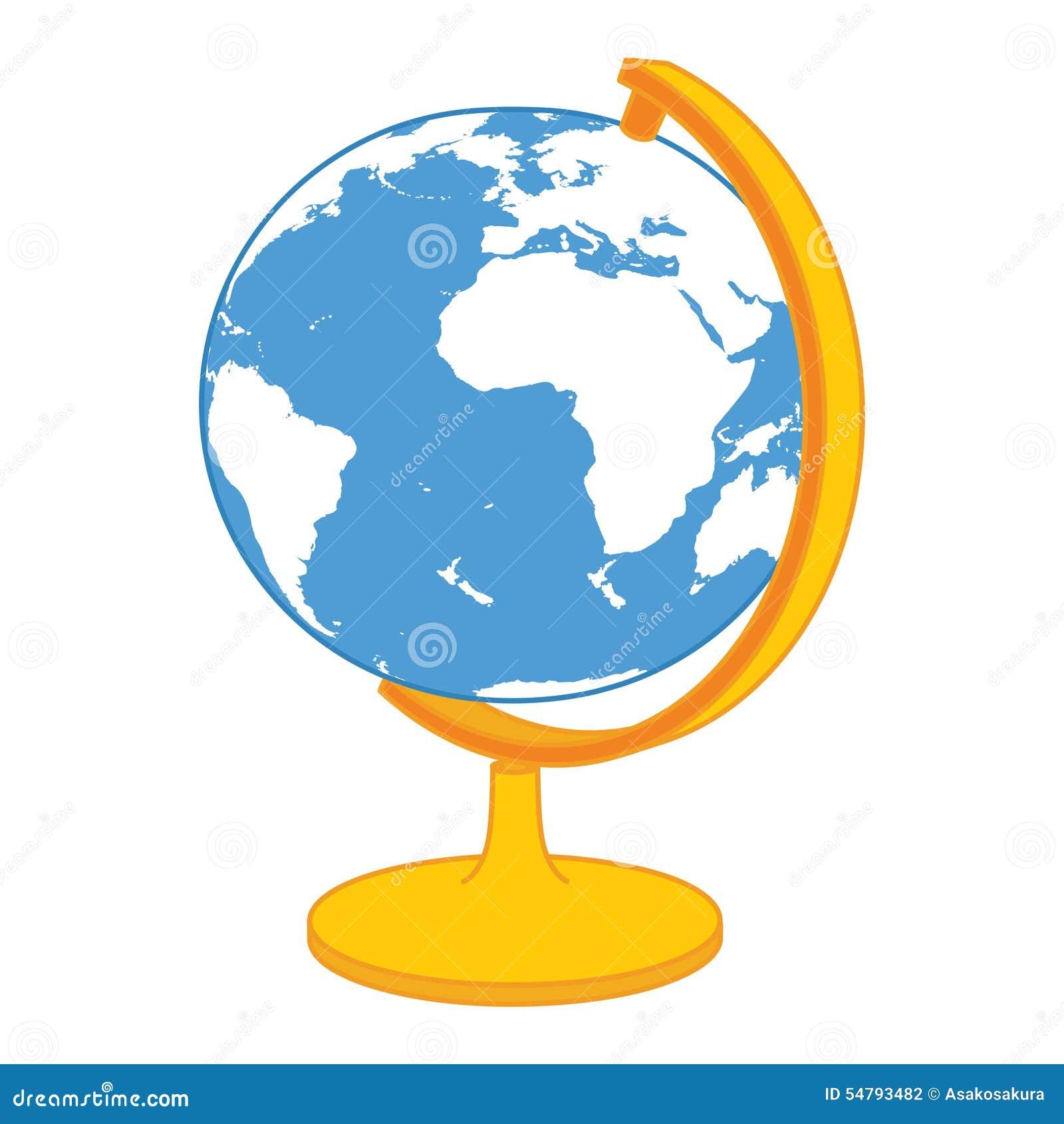 更改地球图标向量
