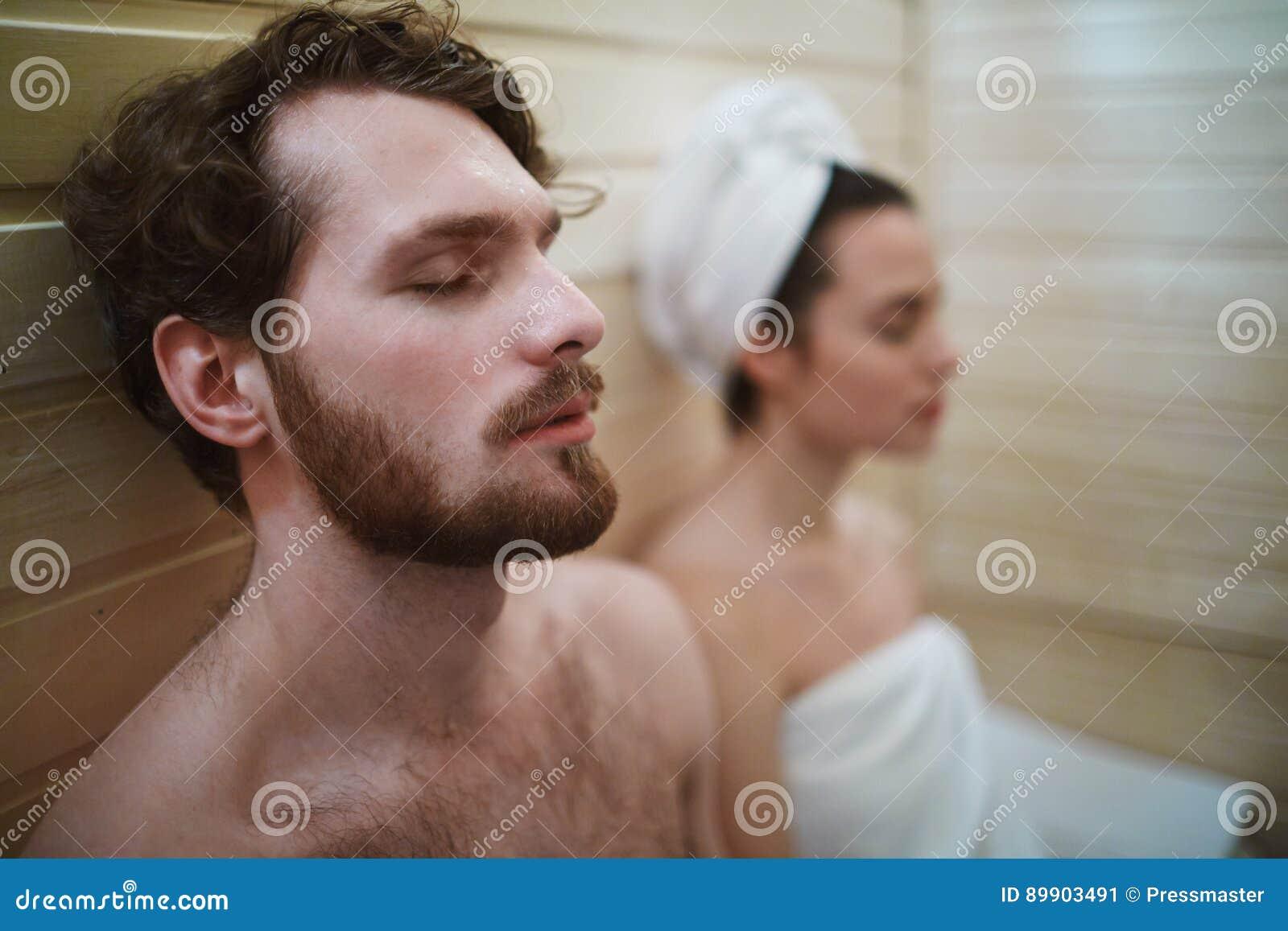 放松蒸汽浴