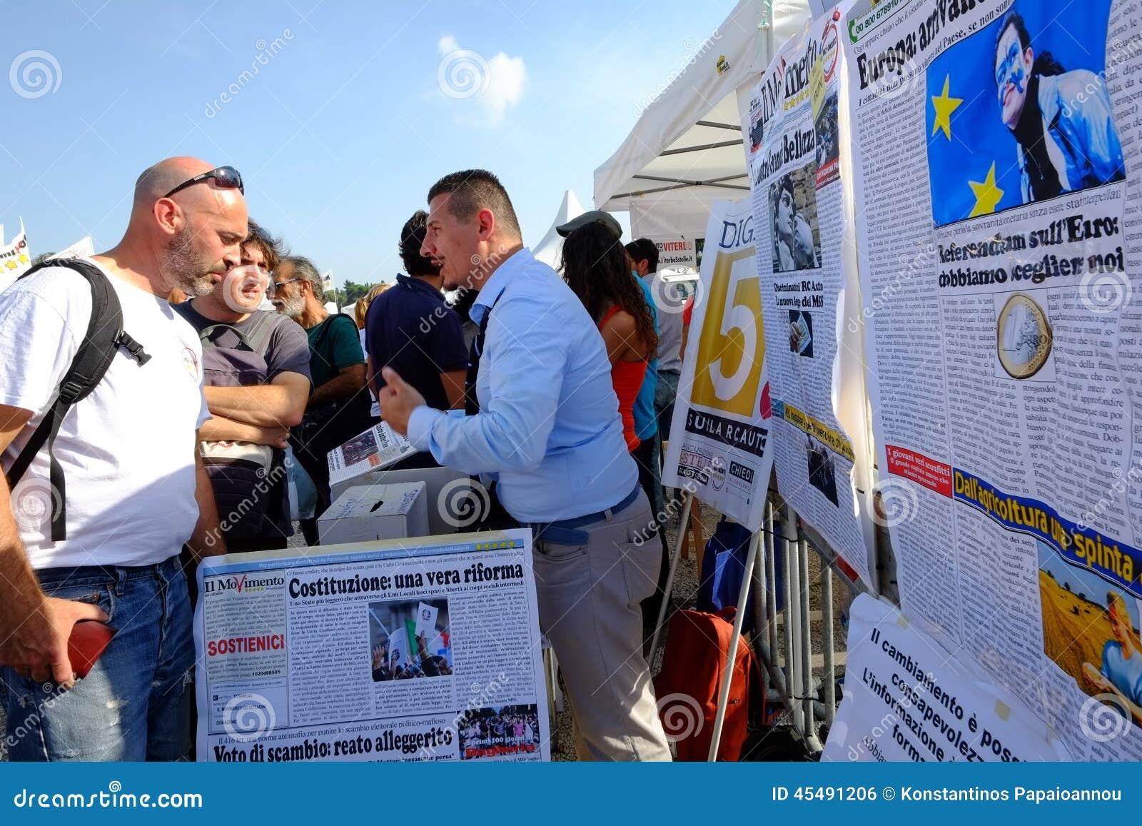 政治示范在罗马