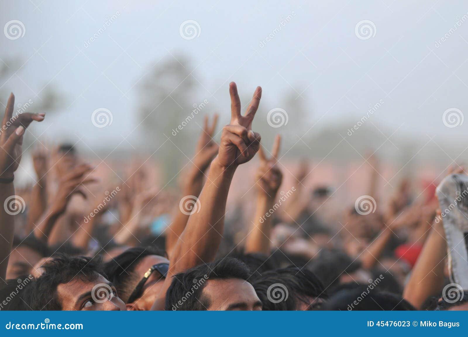 政治运动在印度尼西亚