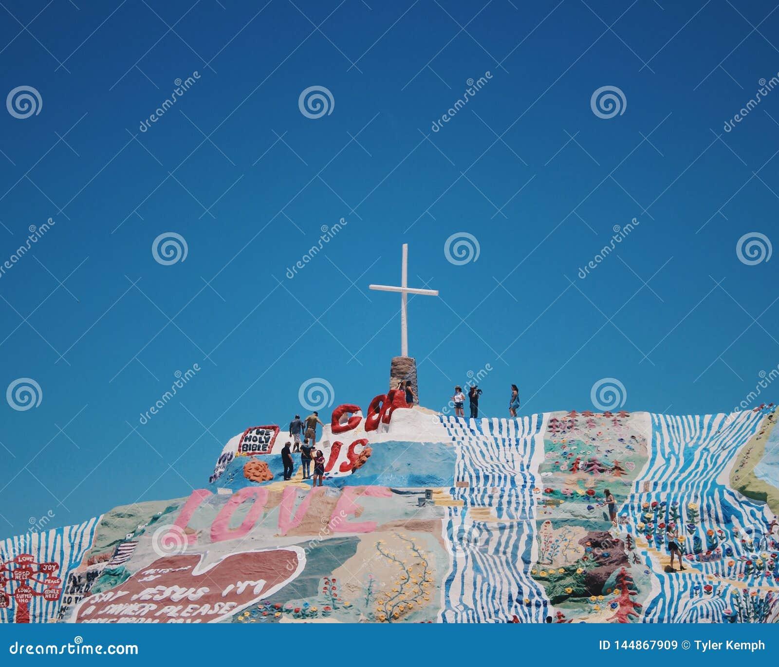救世山艺术在平板城市