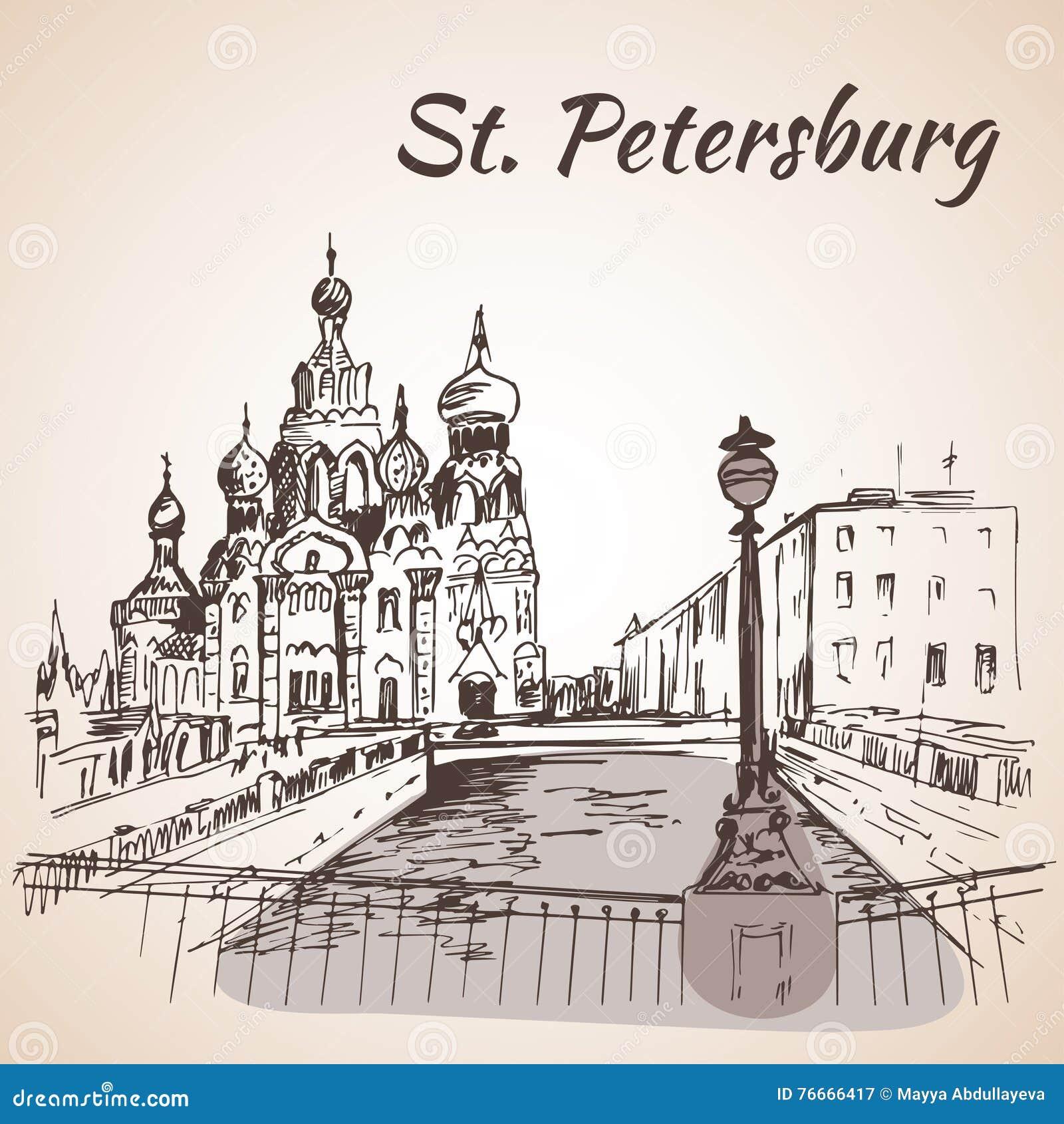 救主的Hurch在圣彼德堡,俄罗斯