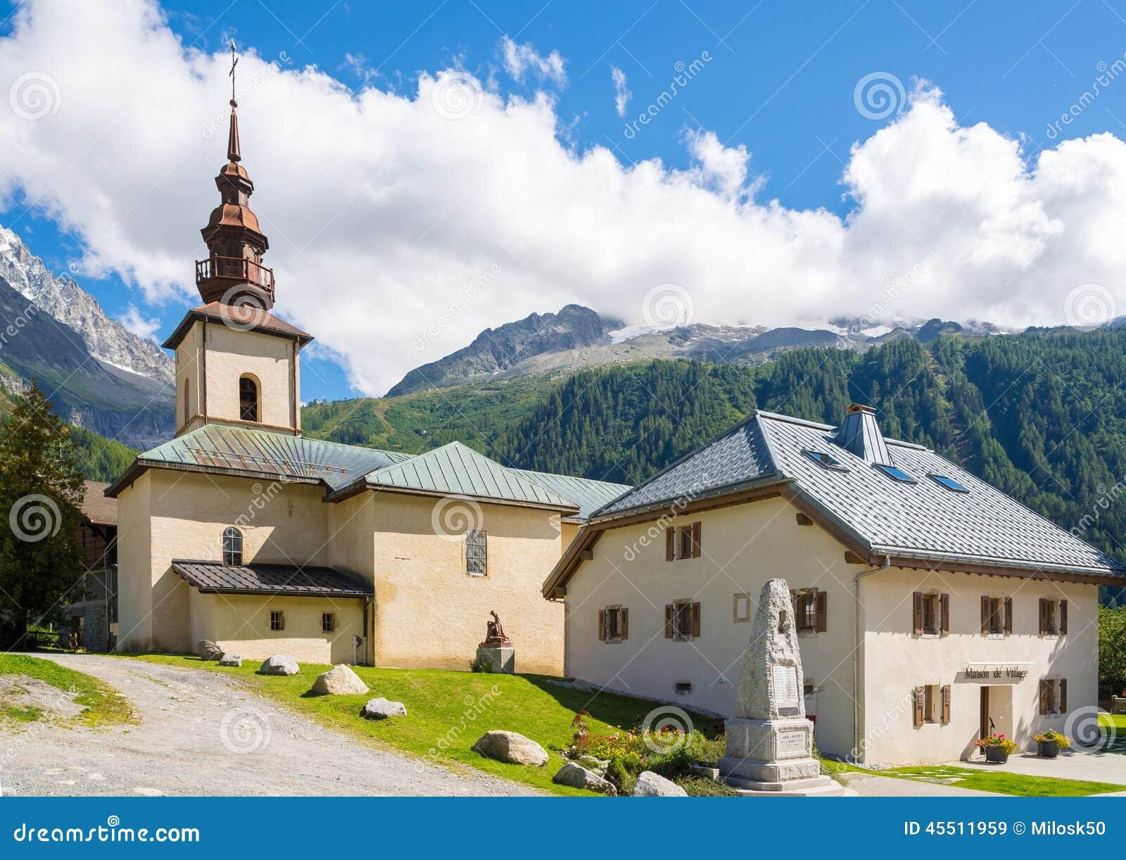 教会圣皮埃尔d Argentiere