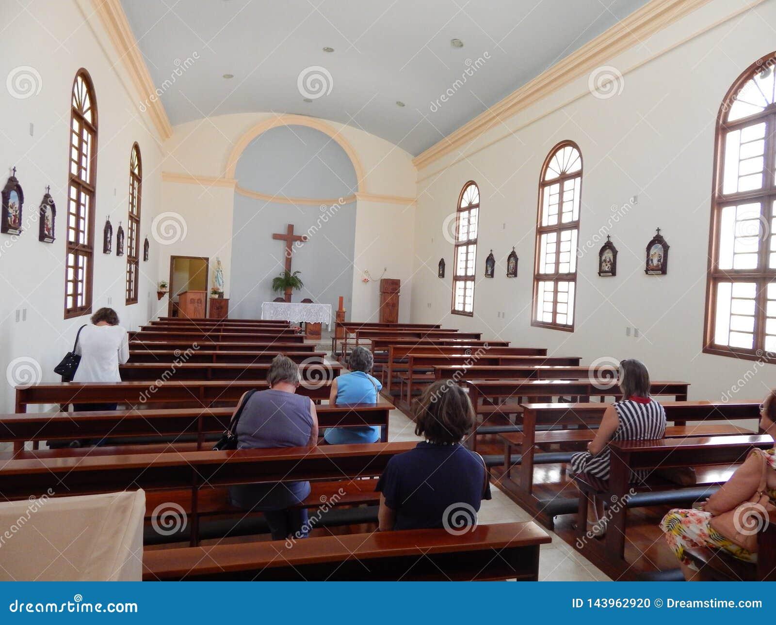 教会的内部