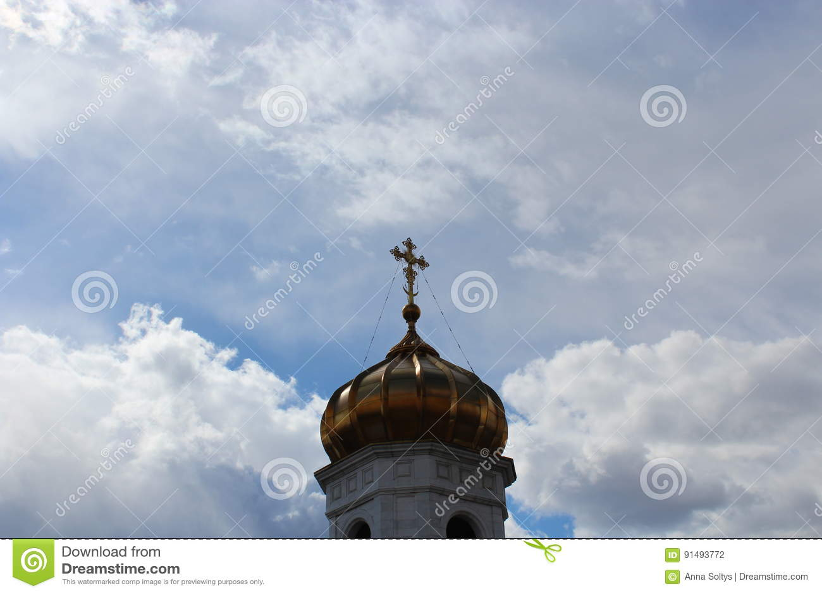 教会的Golden Dome