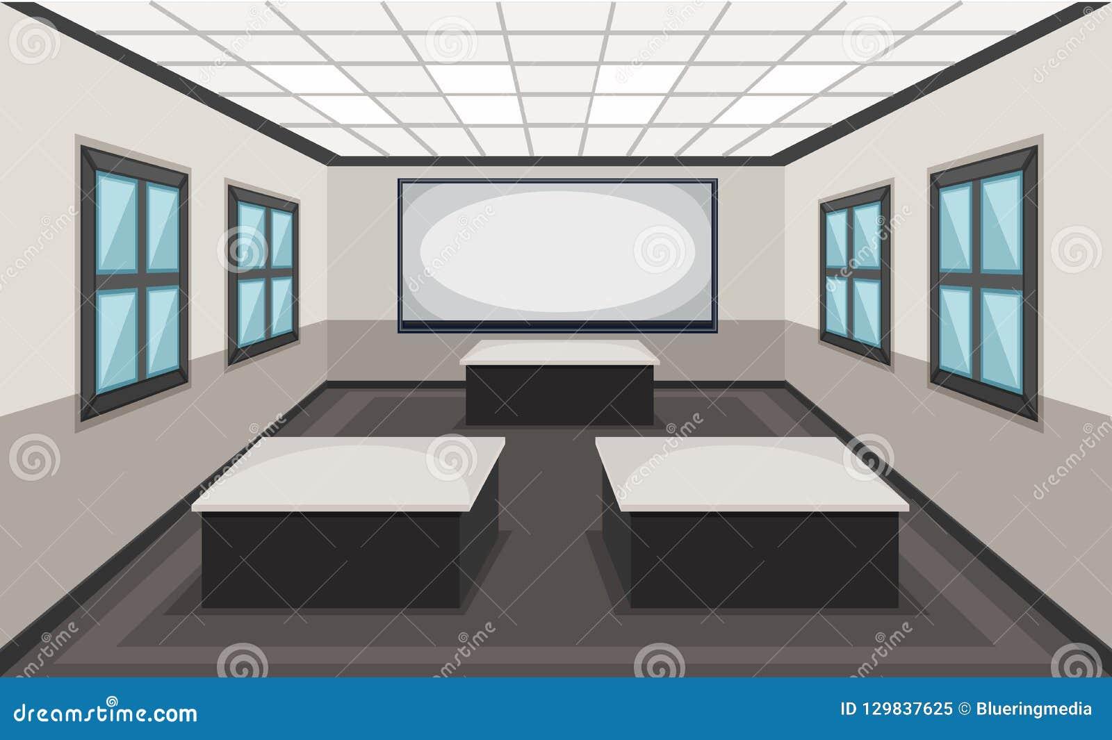教室场面内部