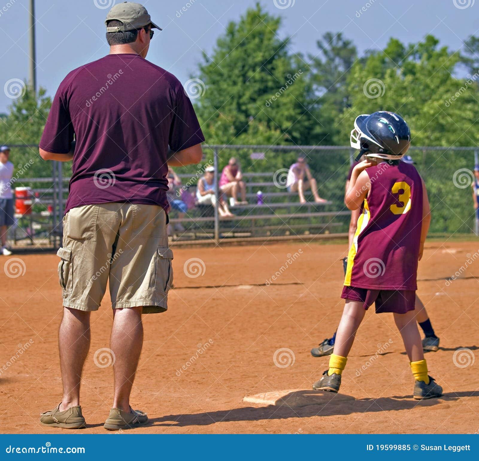 教练女儿父亲s垒球