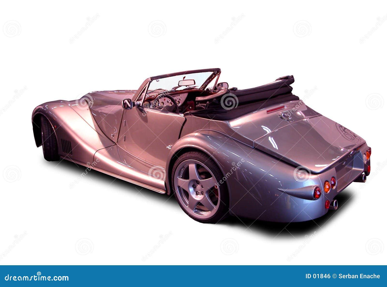 敞篷车豪华银
