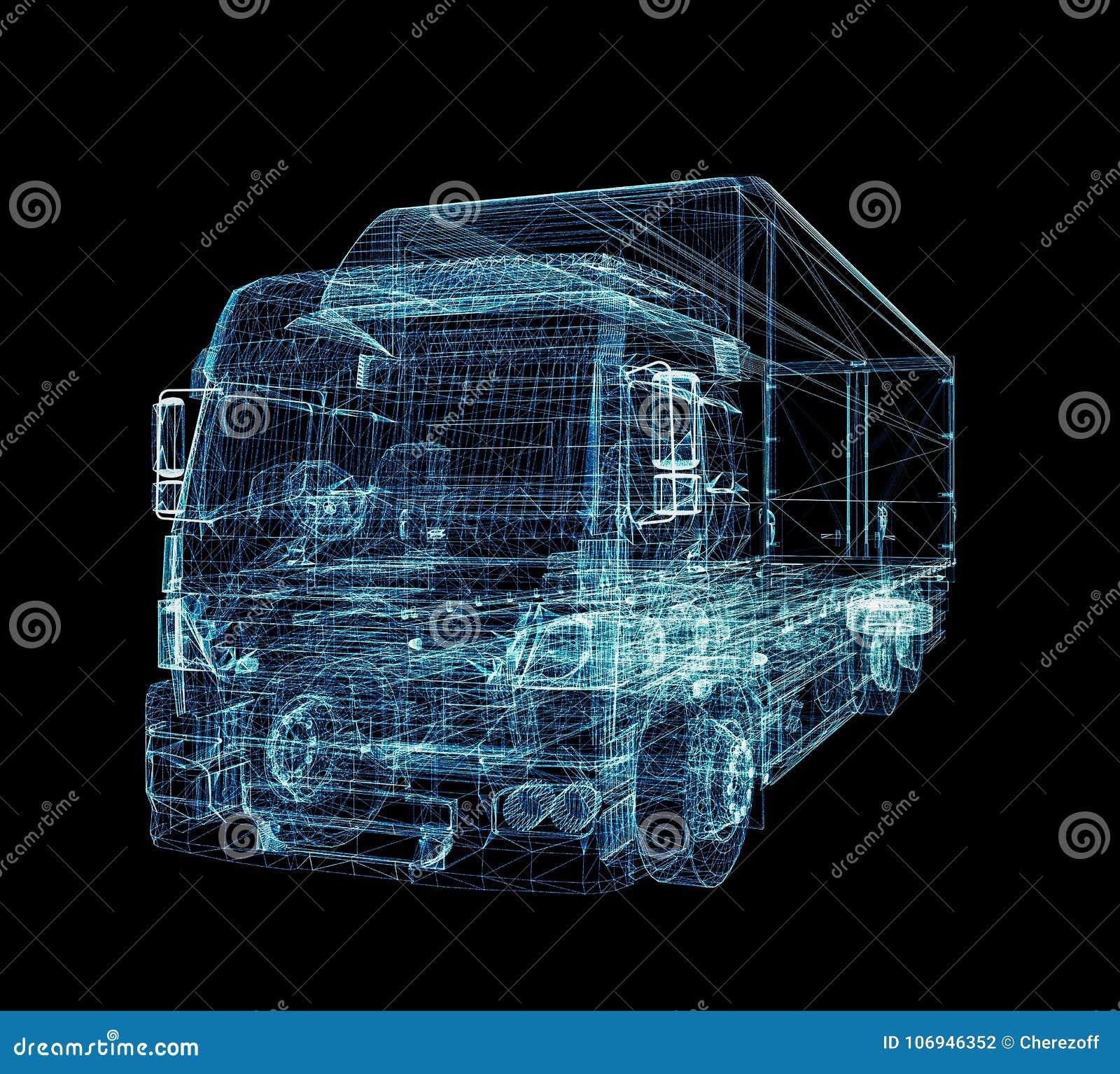 数字式卡车 数字技术的概念