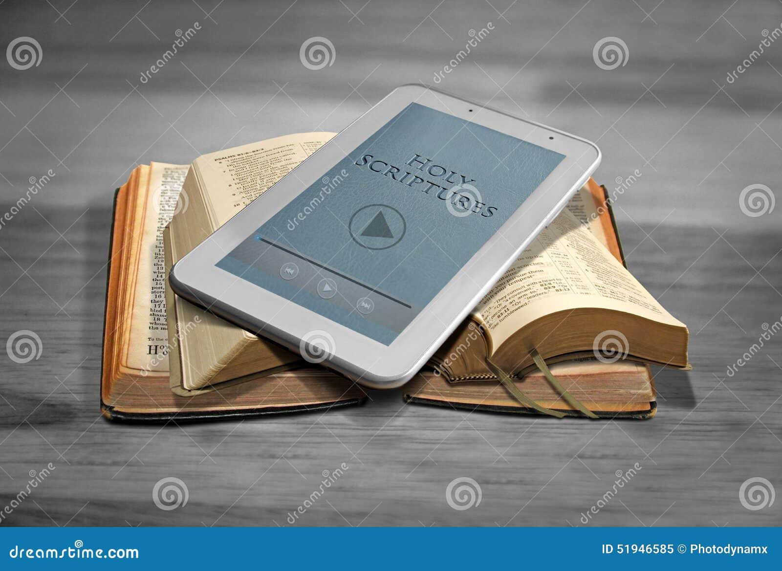 数字式圣经片剂