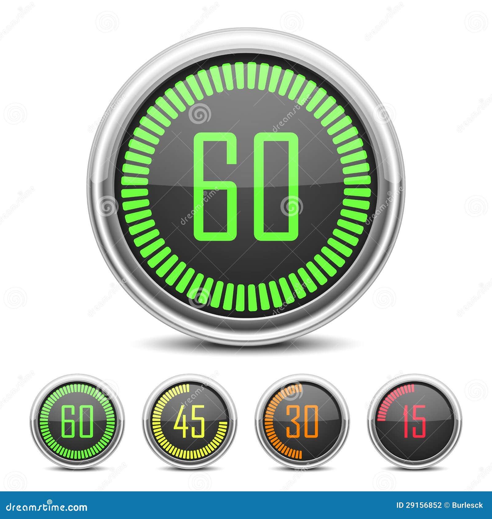 数字式读秒定时器