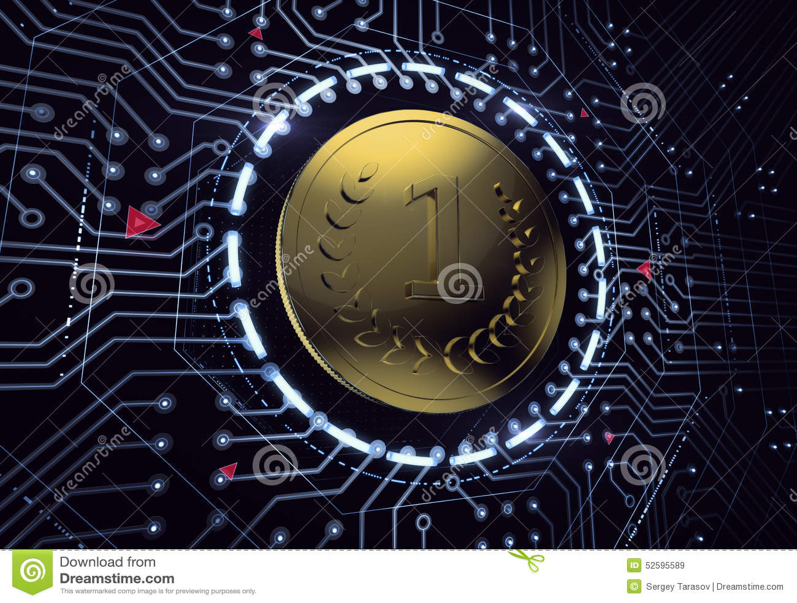 数字式货币硬币