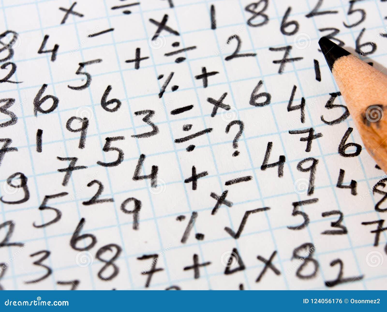 数学符号和解决问题