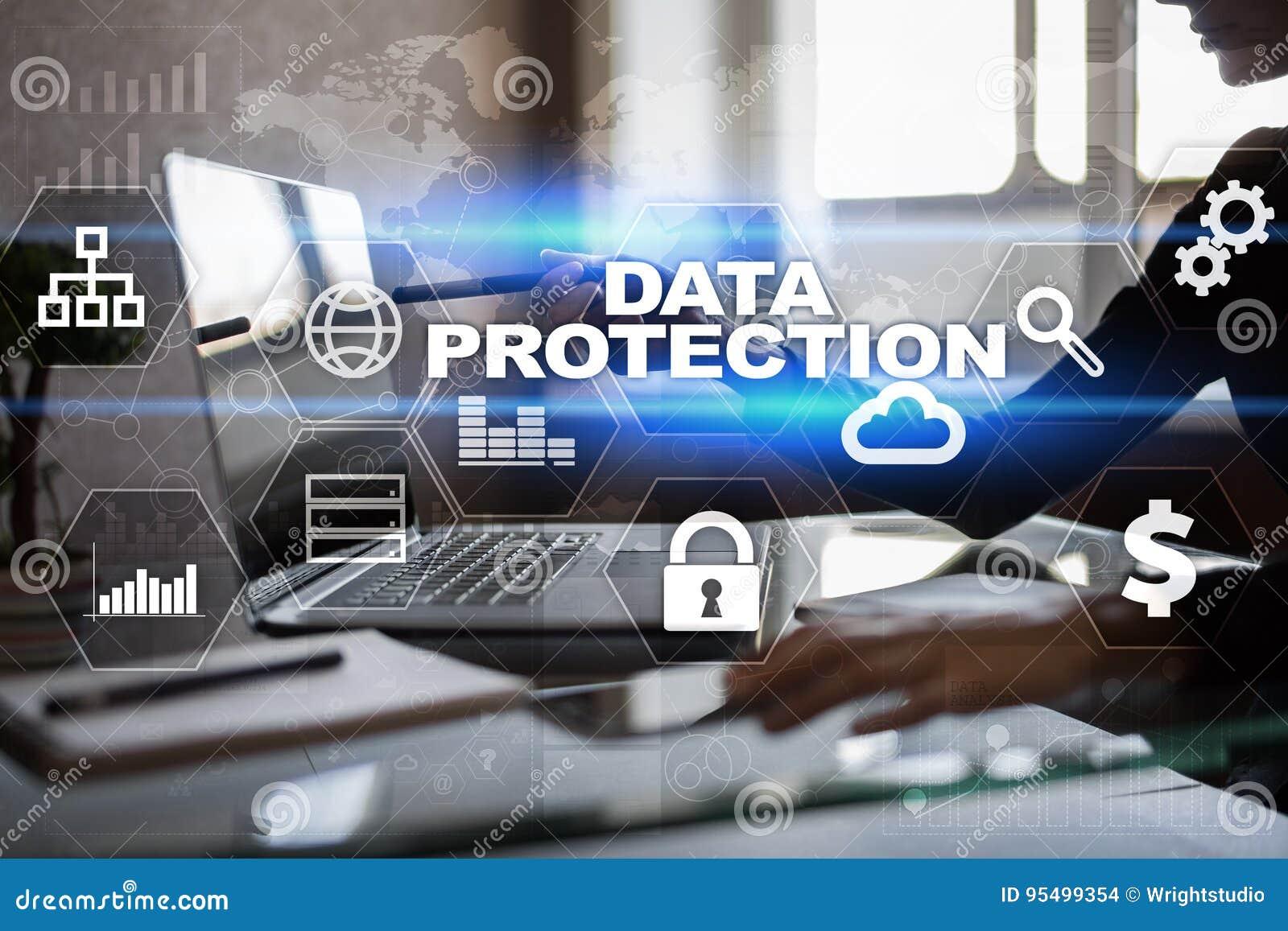 数据保护,网络安全,信息安全 技术企业概念