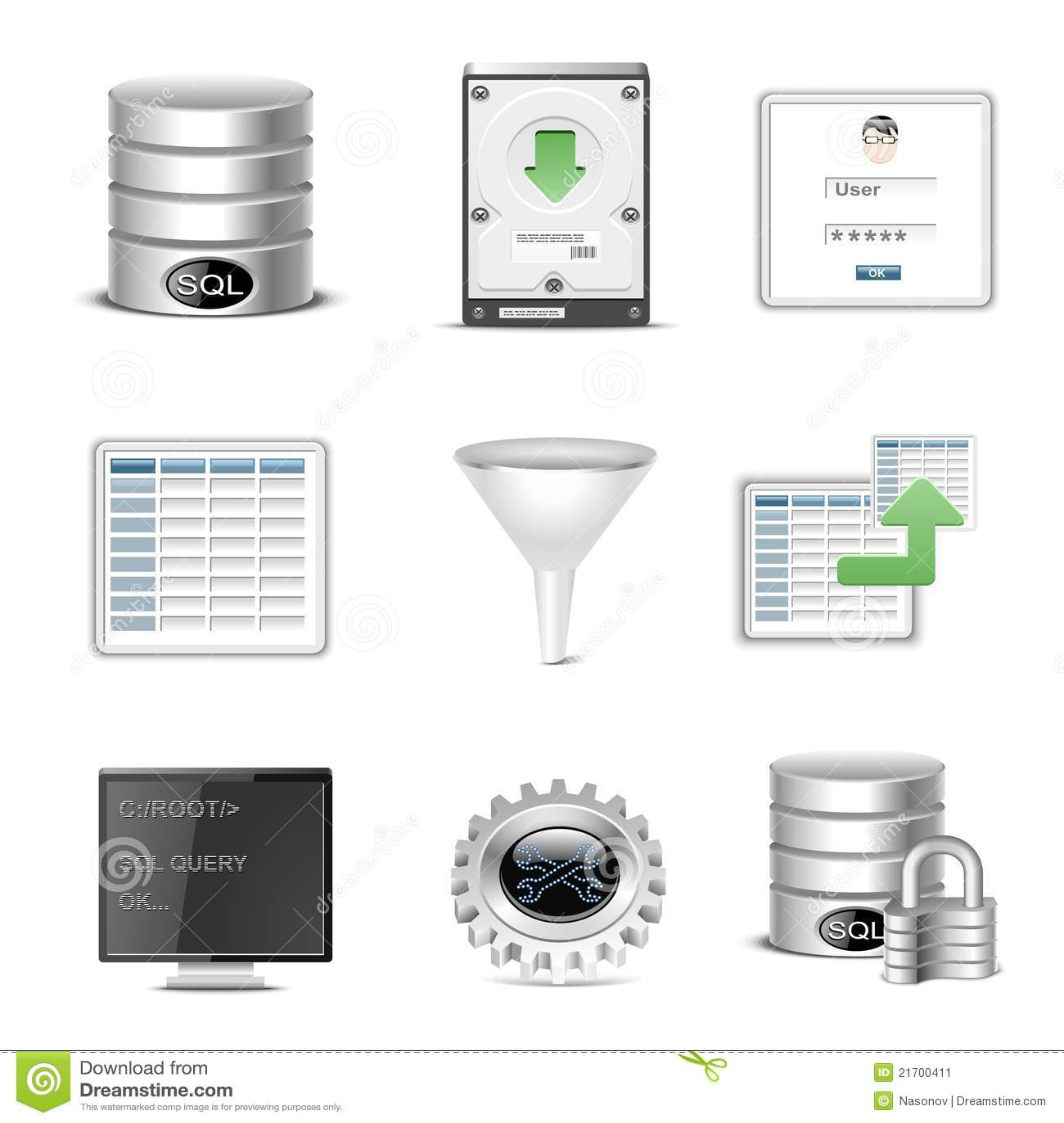数据库图标图片