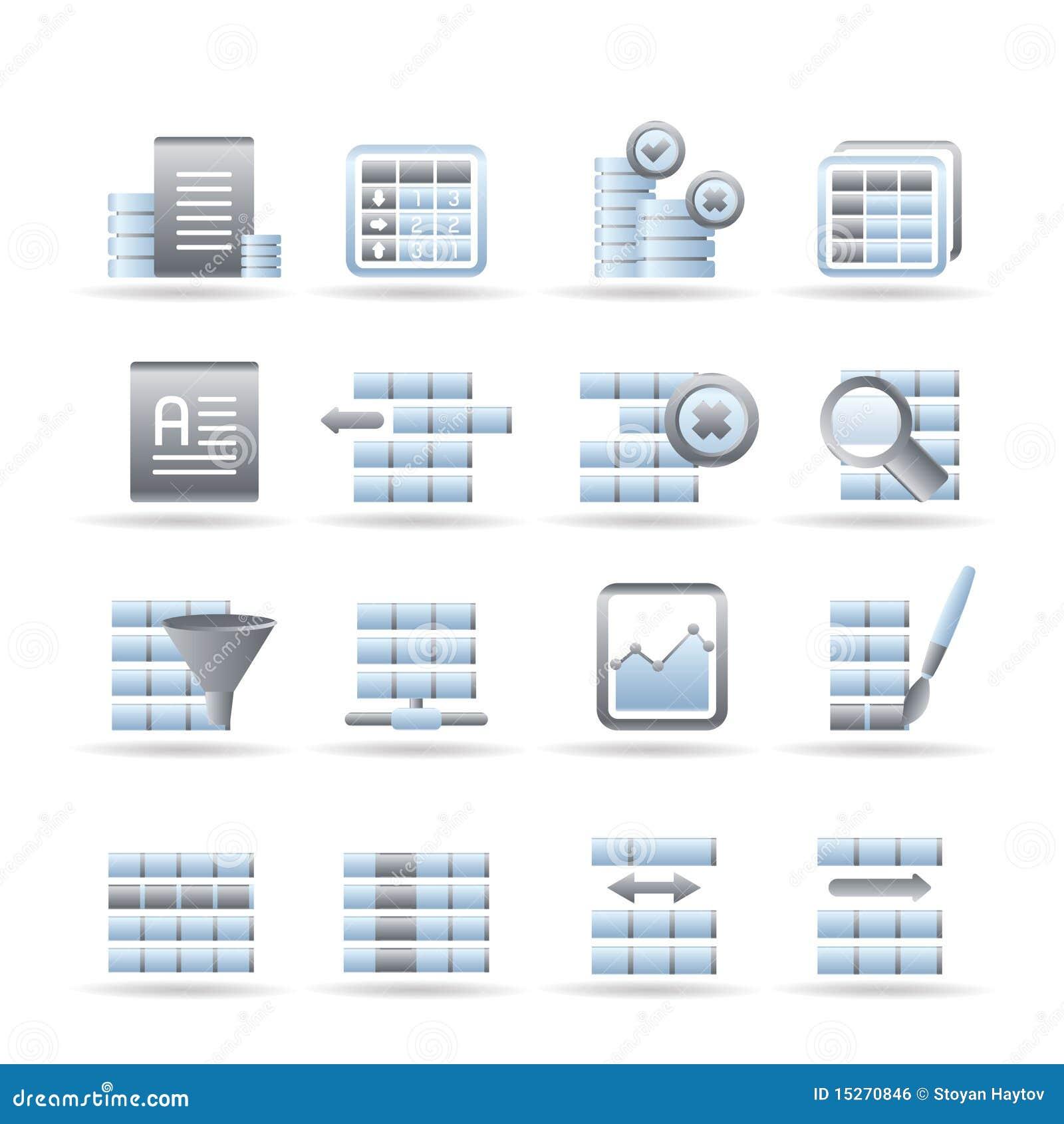 数据库格式化图标表图片