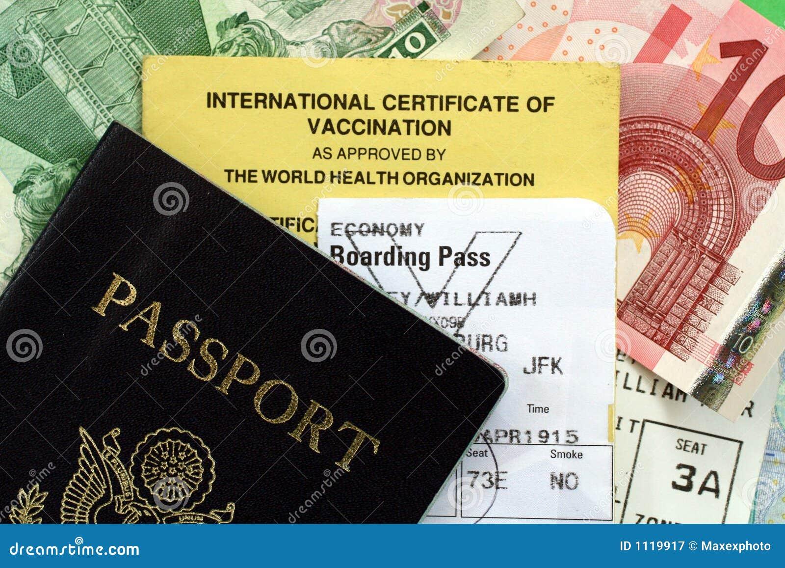 文件护照旅行