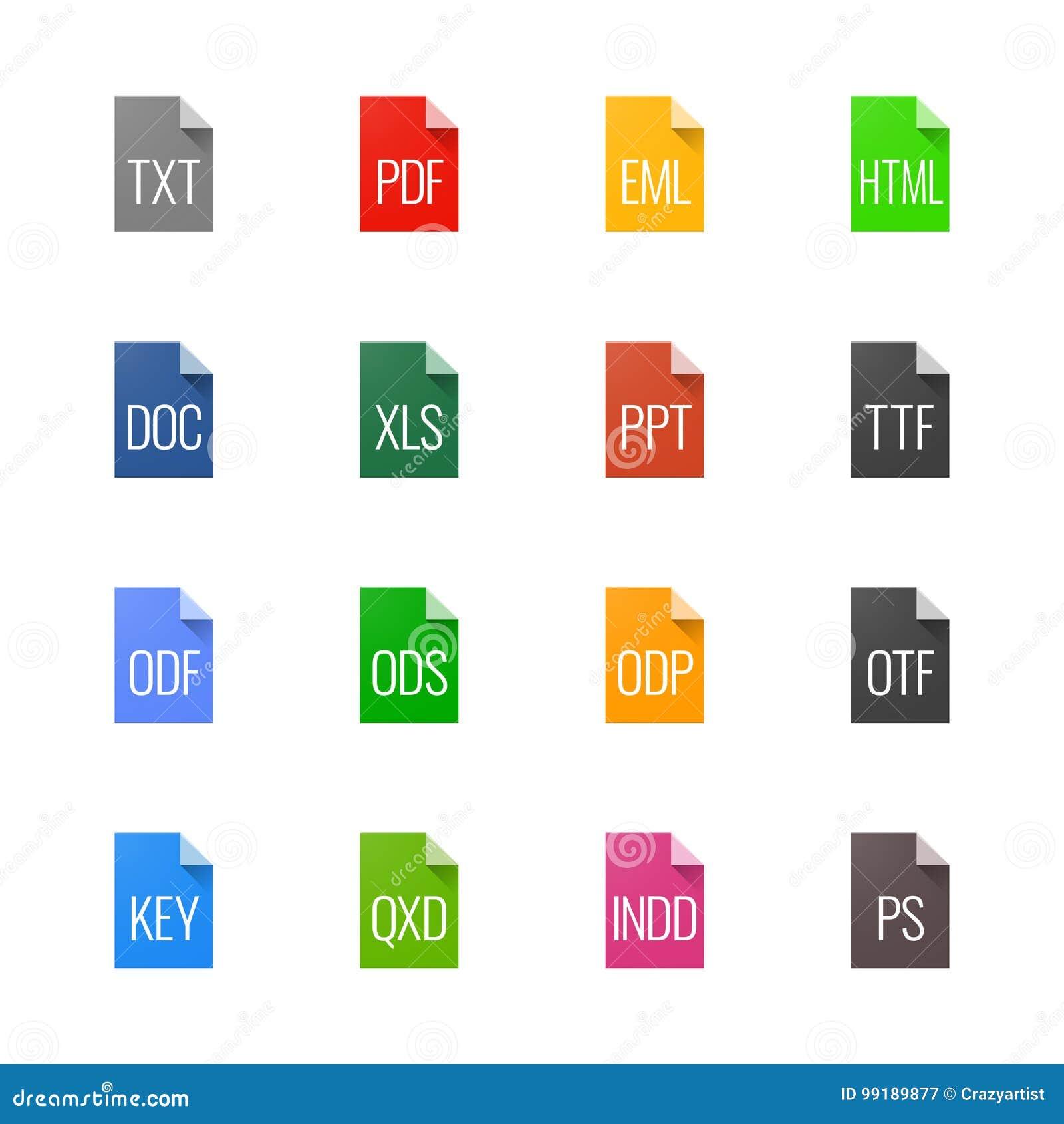 文件类型象-文本、字体和页面设计