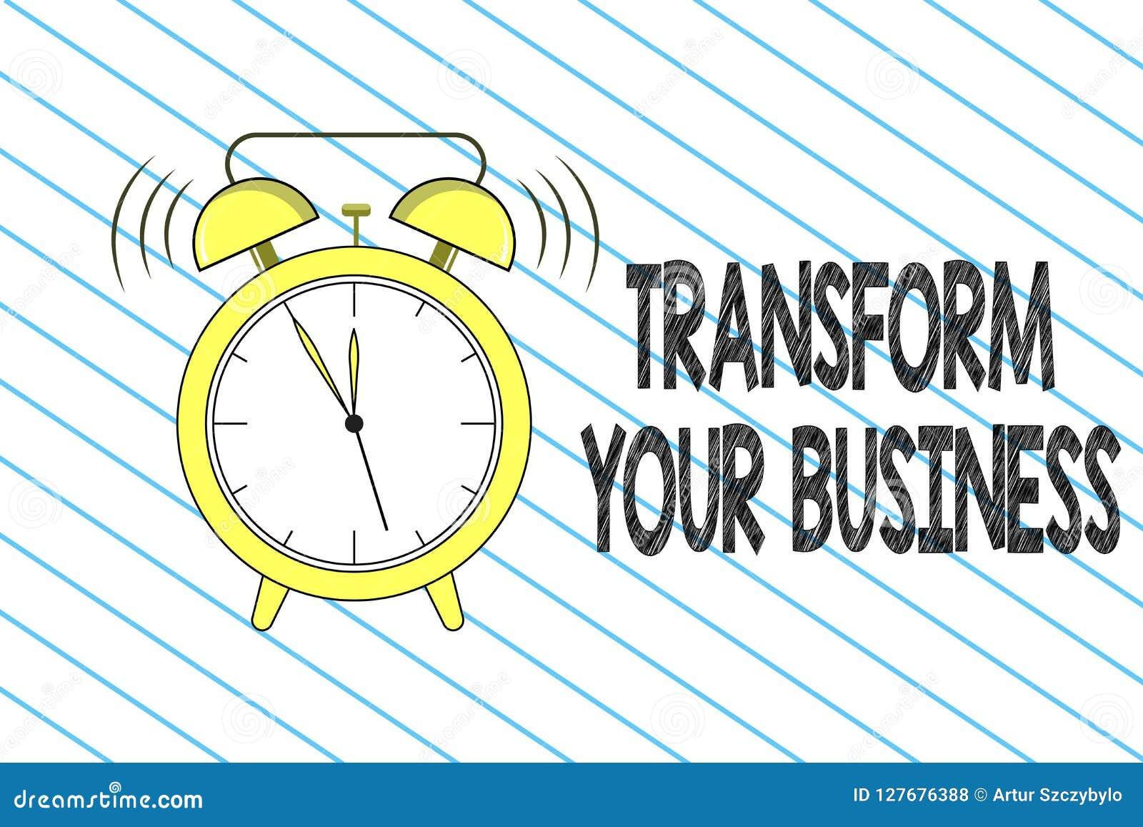 文字笔记陈列变换您的事务 企业照片陈列修改在创新的能量和能承受