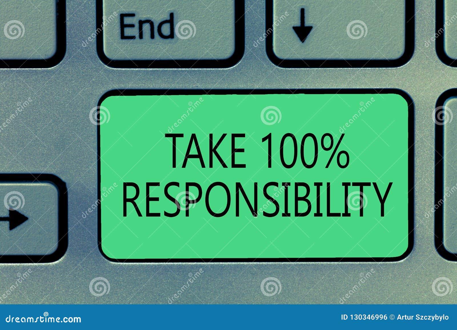 文字笔记陈列承担100责任 企业照片陈列是充分地对您的行动负有责任和