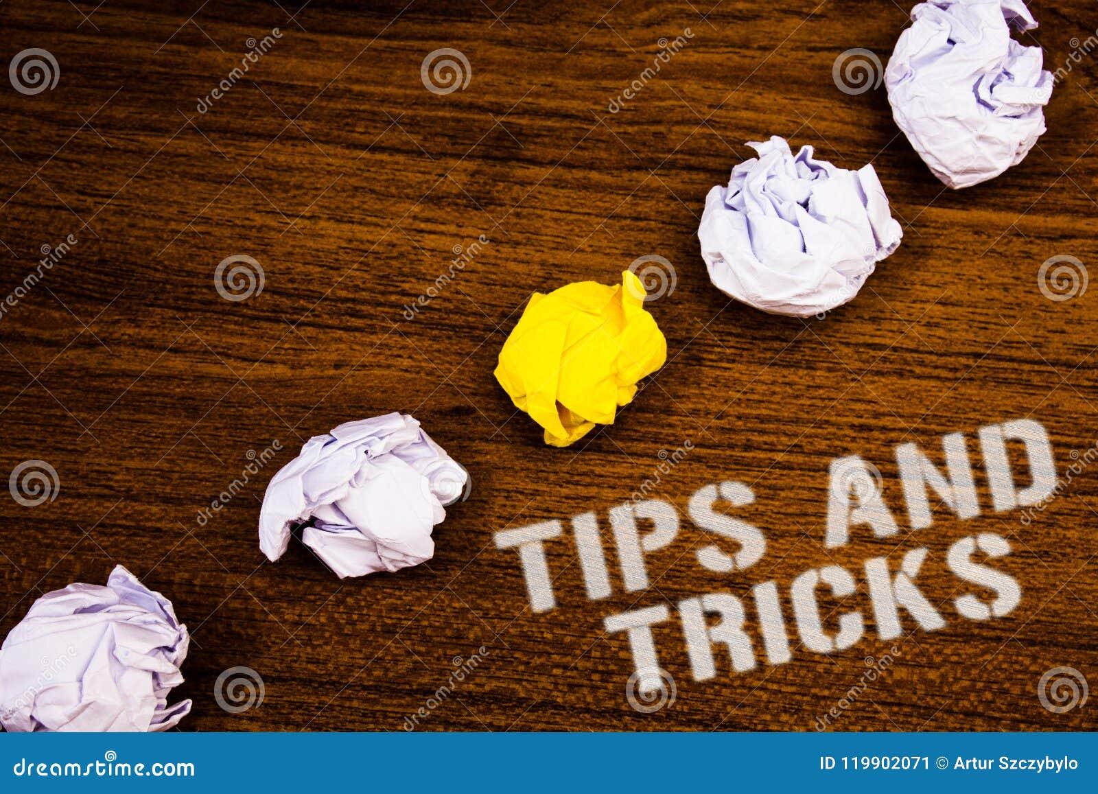 文本标志陈列打翻并且欺骗 做事更加容易的有用的忠告解答想法概念wor的概念性照片建议