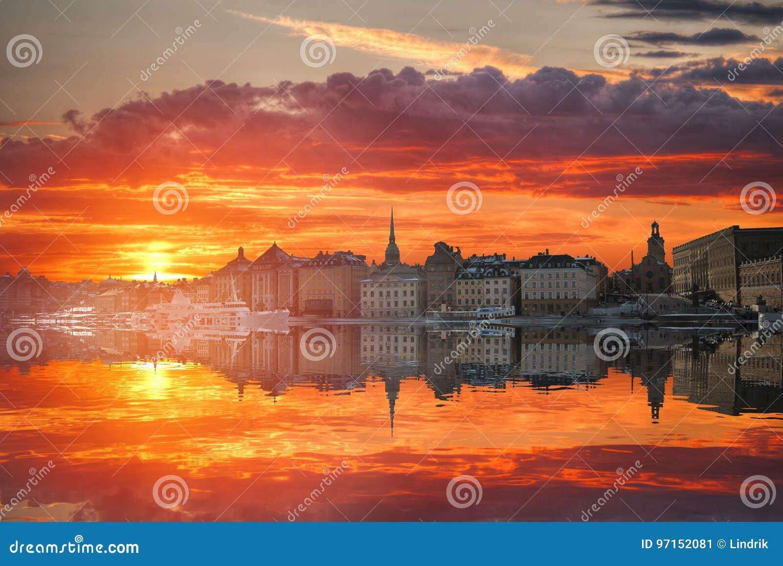 斯德哥尔摩是资本瑞典