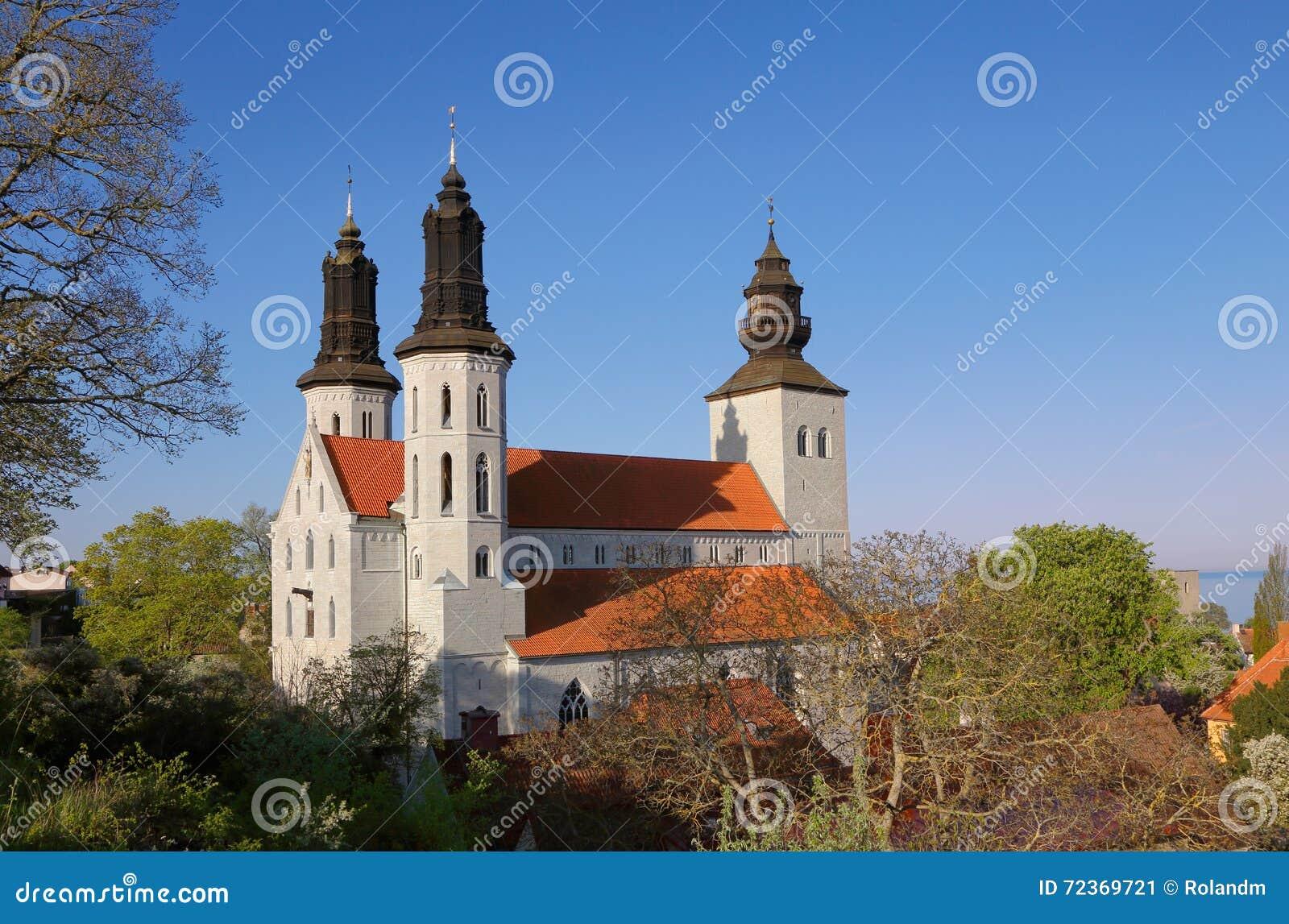 维斯比大教堂瑞典