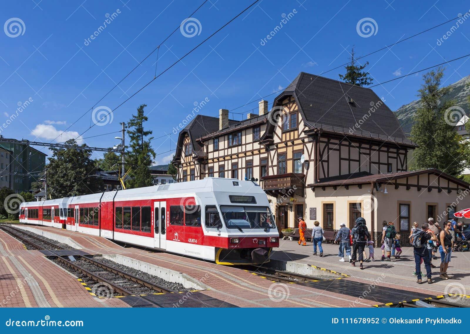 斯洛伐克;驻地;高;铁路;火车;tatry;tatras;旅行;