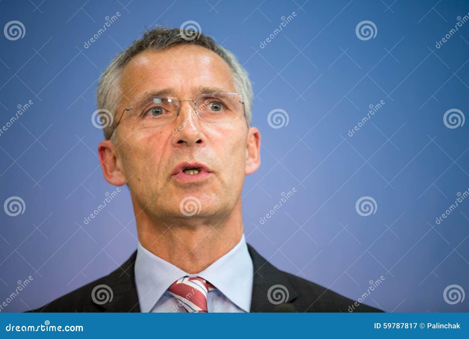 延斯・斯托尔滕贝格北约秘书长