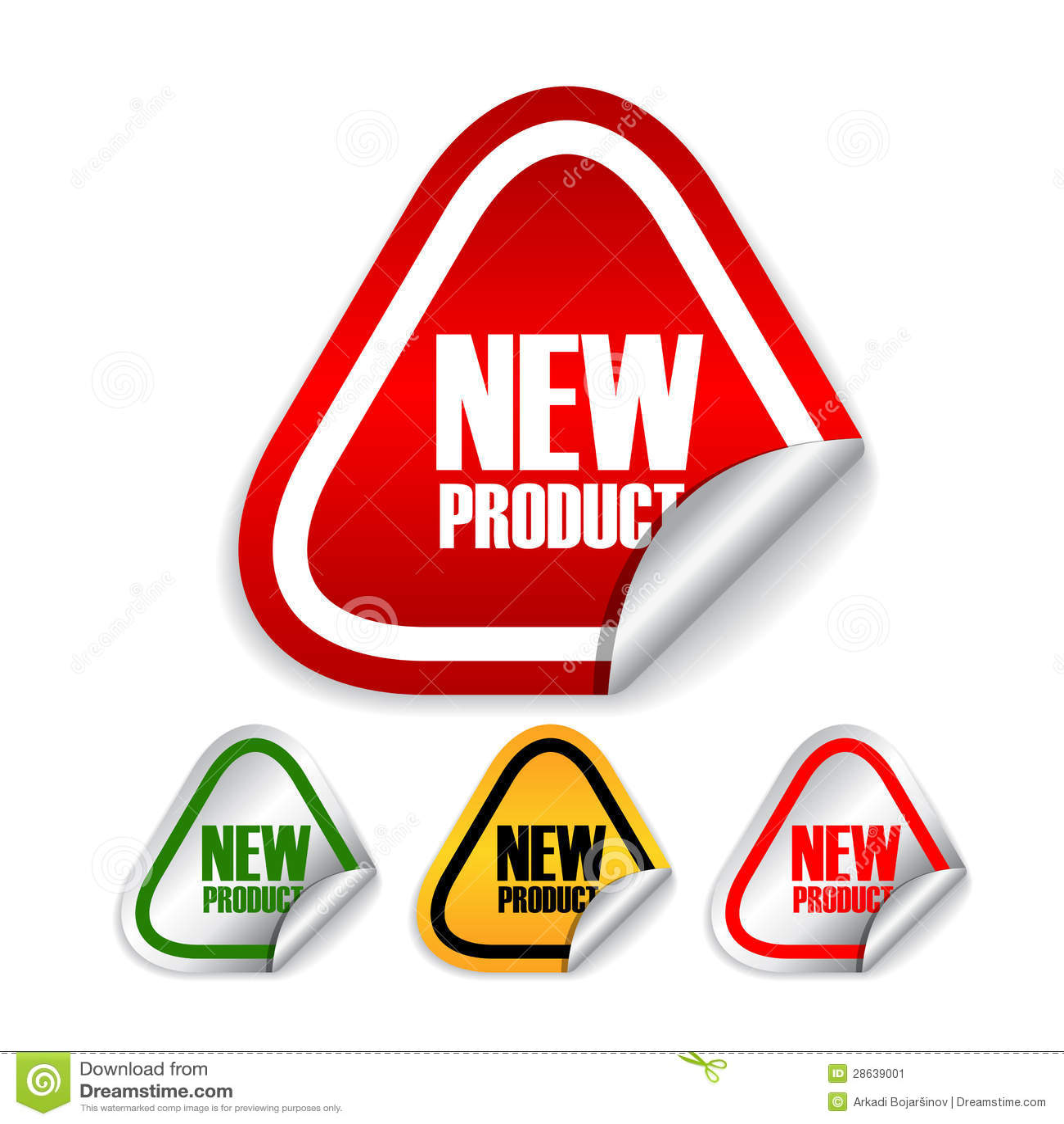 新产品标签