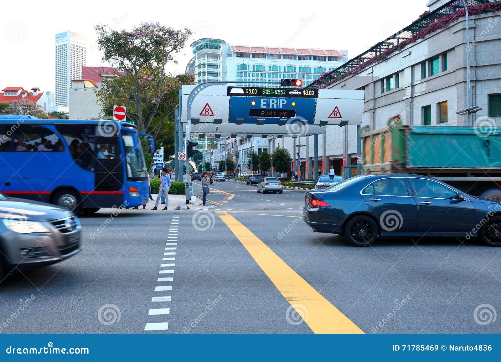 新加坡:电子公路定价