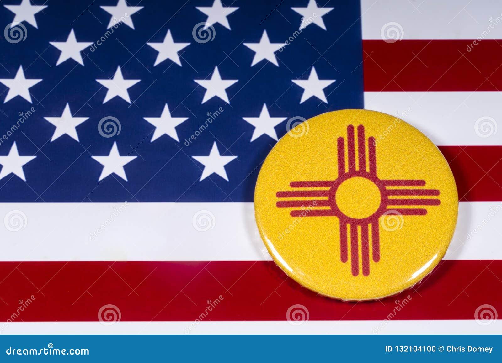 新墨西哥州在美国