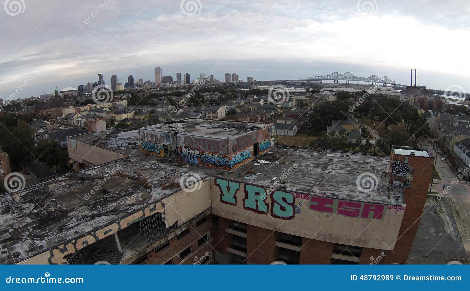 新奥尔良街道画
